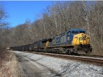CSX 296 and 3022