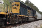 CSX SD40-3 4079 runs second with a SB local