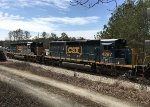 CSX SD40-3s 4079 and 4287 work local traffic
