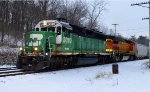 BNSF 3019 and 545