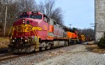 BNSF 622 and 2539