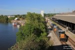 A CSX Train Beside the Alabama River