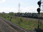 CSX 1513 & 1505 following behind RLCX 8508, HLCX 6525 & CSX 8763