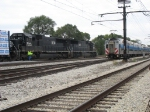 Metra Electric passing IC 1035 & 1030