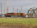 BNSF 2285, 2770 & 2157