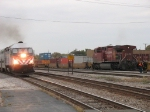 METX 411 passing CP 9626