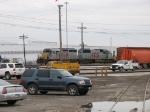 KCS 6600 & 700 in Norpaul Yard