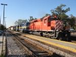 DME 6082, 6071, 6070 & ICE 6410 leading MNACC eastward