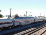 """Amtrak 565 with the """"Ocean View"""" Dome Car"""
