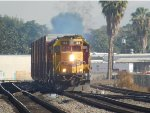 BNSF La Mirada Local with another ex-ATSF leader