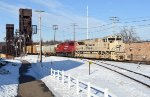 """Sand"""" SD70ACU tribute for the Canadian & US Army"""