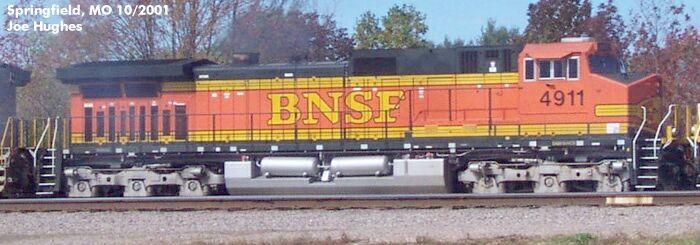 BNSF 4911