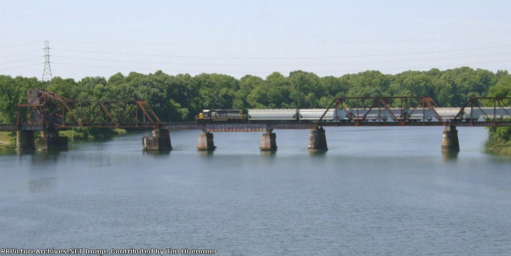 Local crossing the Savannah River