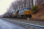 CSX 5297, 3017, 3072, 239, 86 and 124