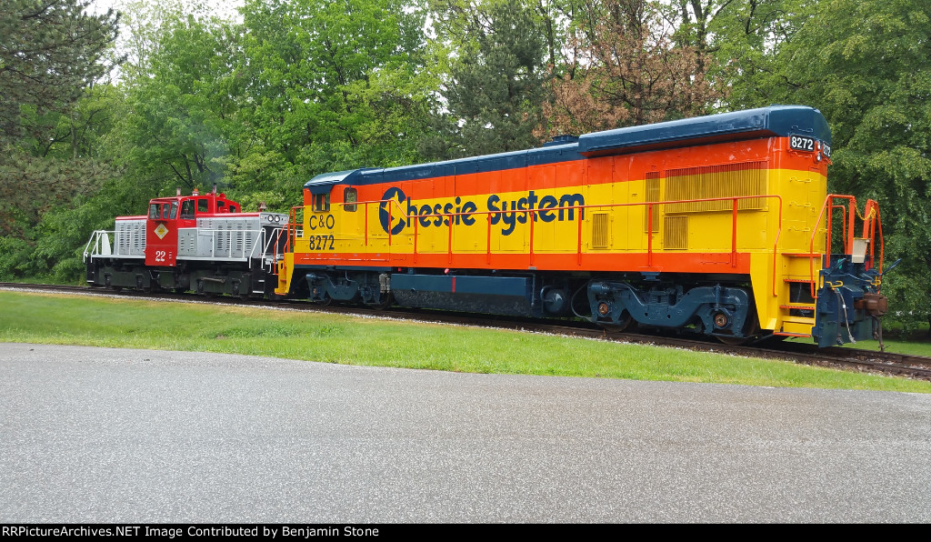 C&O 8272 at General Electric