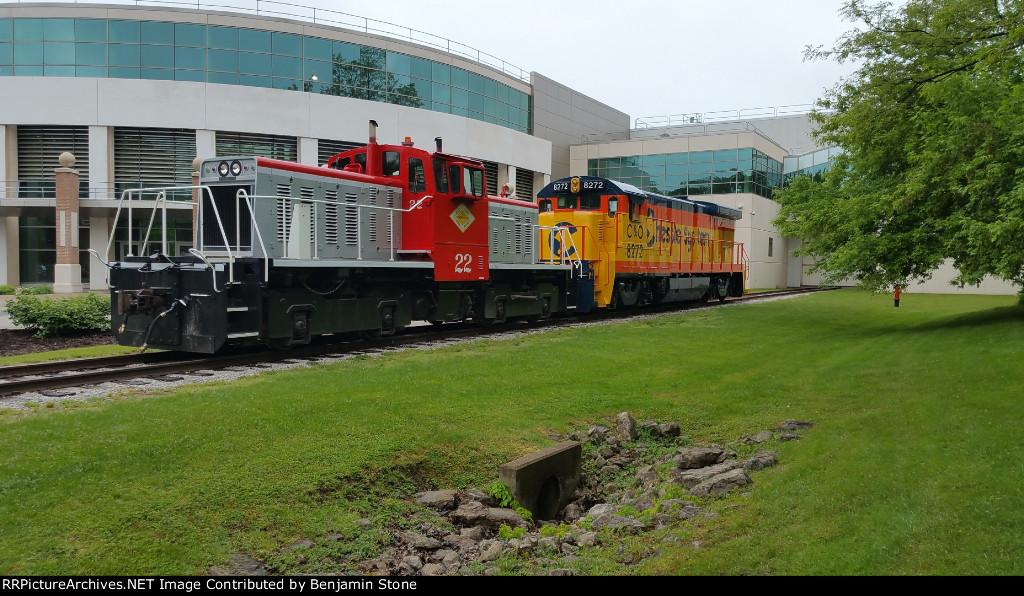 C&O 8272 at General Electric