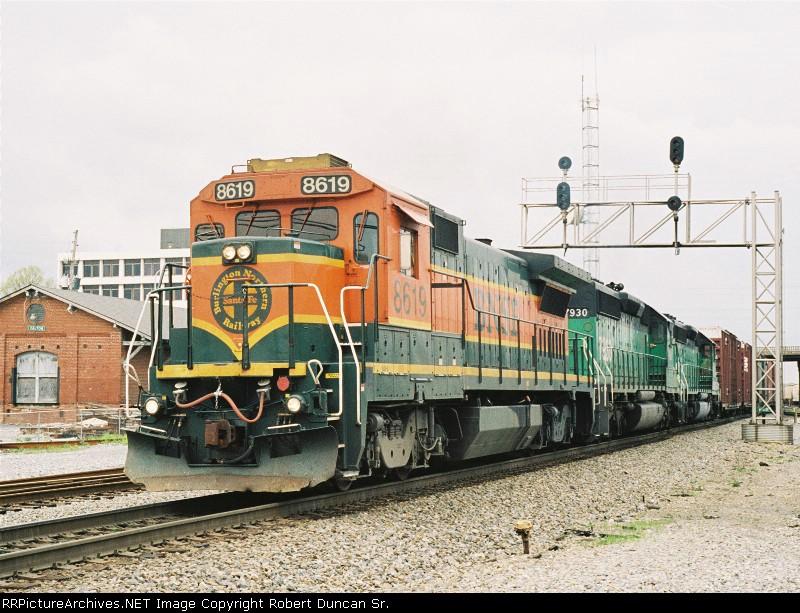 BNSF 8619