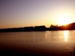 Sunset on a Scherer coal.