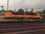 BNSF 127 and 107