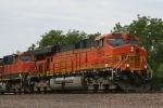 BNSF 7654 closeup