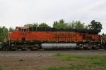 BNSF 7768 closeup