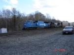 NS 6737 (ex.CR) & NS 2726 head EB w/SPDFILE1 mobile looking proud