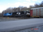 NS 2726 & NS 6737 (ex.CR) heads EB towards Cresson