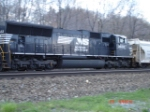 NS 2632 heads WB w/long hood forward