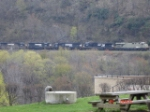 NS 7546, NS 9919, NS 6682, NS 7072 & NS 6580 all head EB around the curve