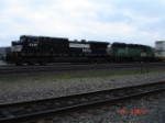 NS 9348 & BNSF 2918 pass MP 251 heading EB