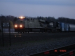 NS 7544 & NS 9409 stopped at MP 251 EB