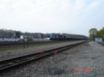 NS 8378 (ex. CR) & NS 8890 head EB w/NS Train 66Z