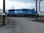 NS 5430 (ex. CR) leads a work train EB
