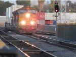 W/B BNSF Z-train