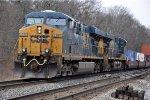 Intermodal rolls east