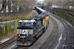Eastbound coal loads