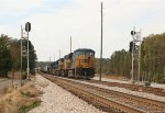 CSX 5415 leads a line of 7 units