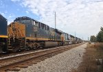 CSX 5415, 360, 774, 4727, and 953 wait for NB green