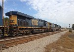 CSX 5415, 360, and 774 wait for NB green