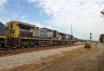 CSX 5415 and 360 wait for NB green