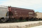 BNSF covered hopper 489027