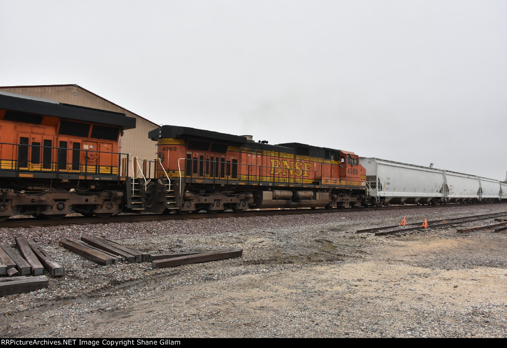 BNSF 4989 Roster.