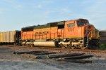 BNSF 9725 Dpu on a empty coal train.