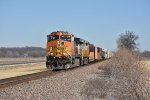 BNSF 5474 Leads the daily H-GALMEM.
