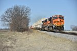 BNSF 6291 Races east on the Brookfield Sub.