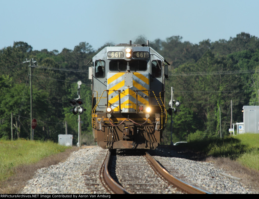 KCS Train 100 - Northbound Run