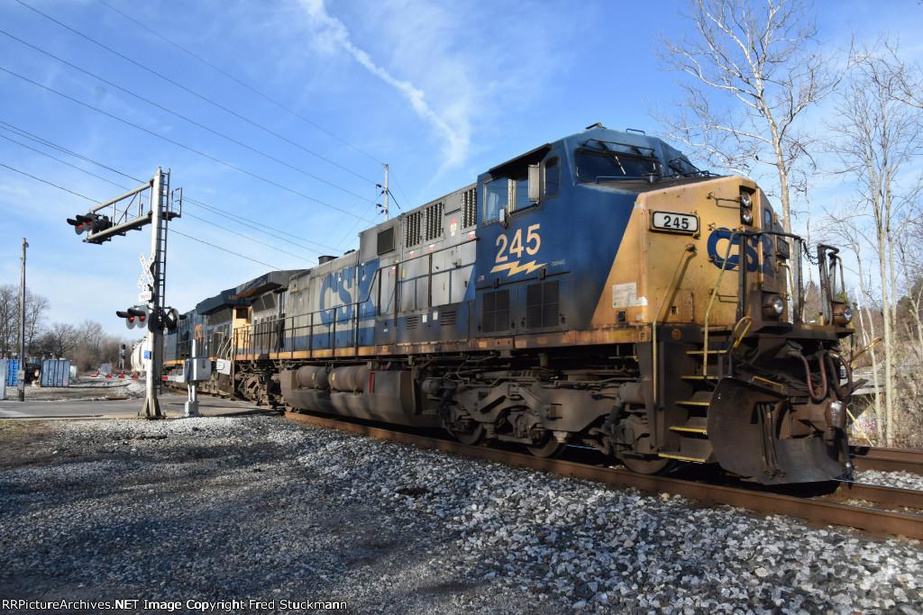 CSX 3307 & 245.