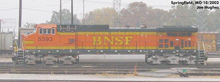 BNSF 5393