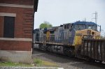 Two trailing units on CSX Q410