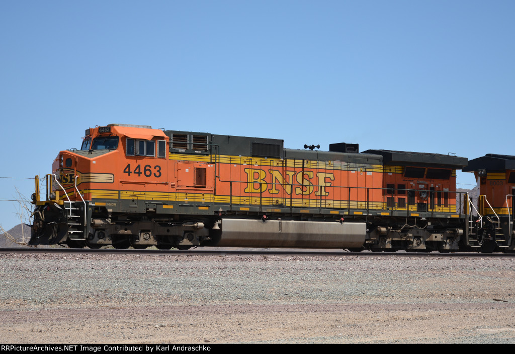 BNSF 4463